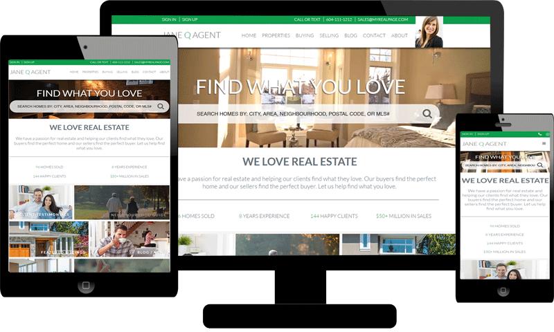 myRealPage 100% Responsive Website Themes